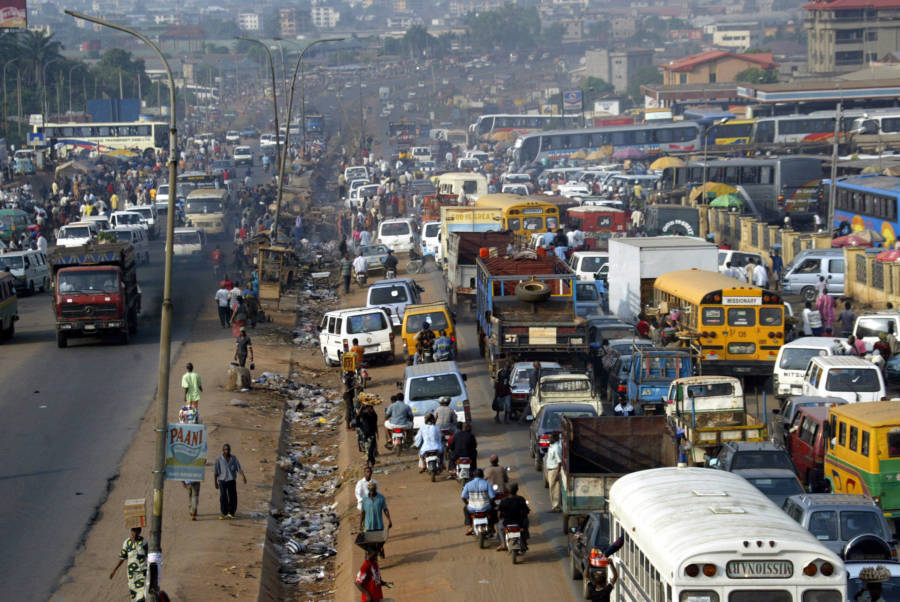 Traffic Jam In Onitsha