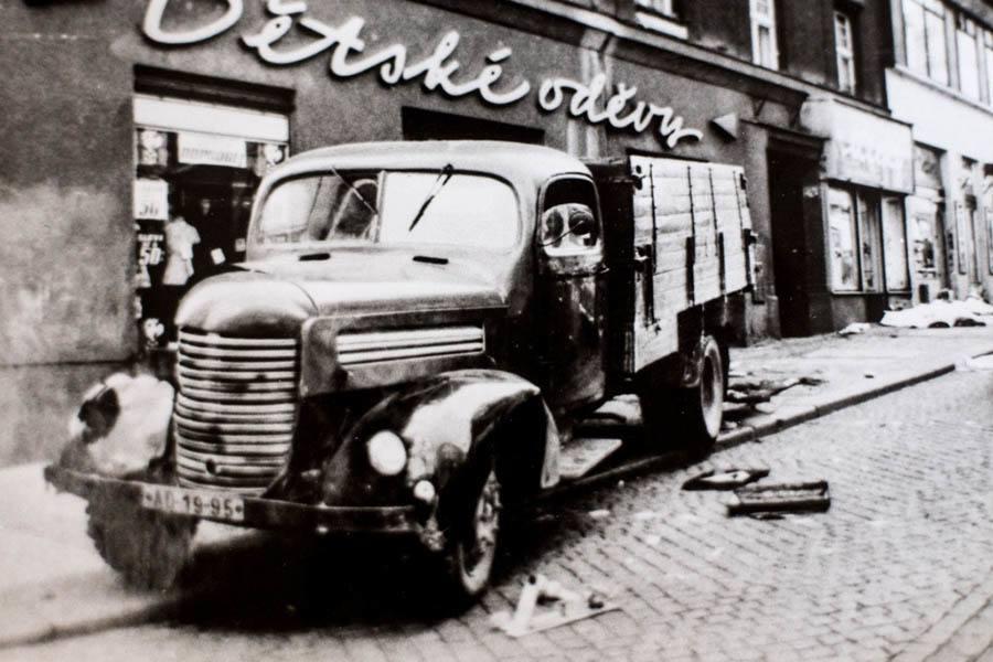 Truck Driven By Olga Hepnarová