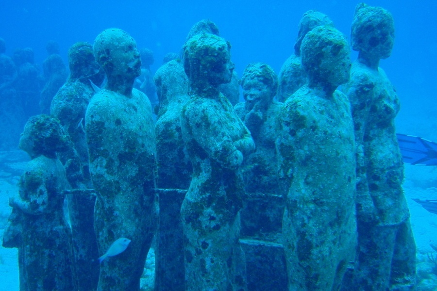 Underwater Museum Sculptures