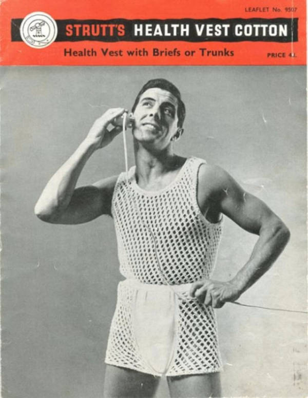 Vintage Mens Underwear Ad