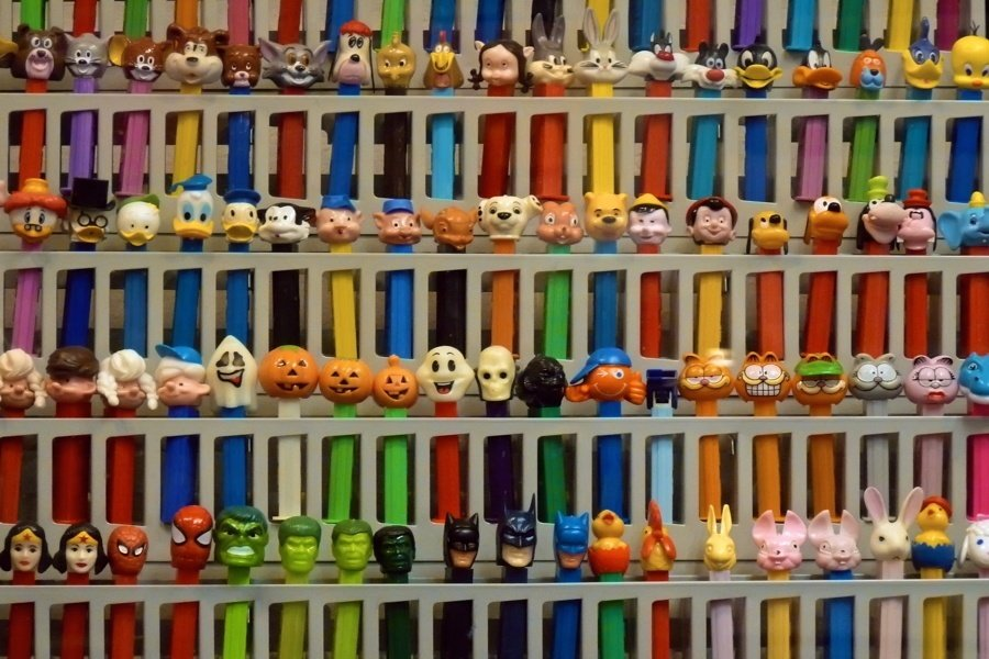 Weird Museums Pez