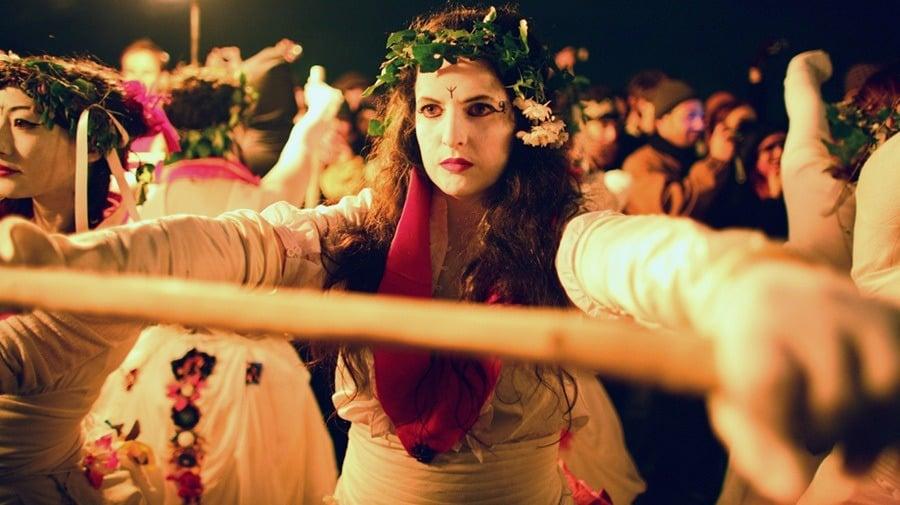 White Robe Beltane Fire Festival