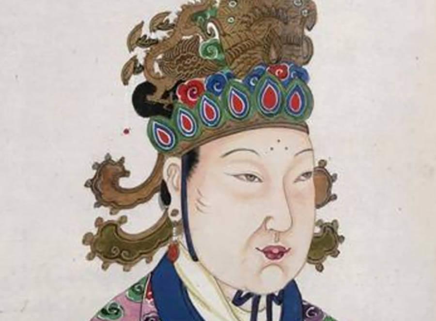 Wu Zetian Portrait