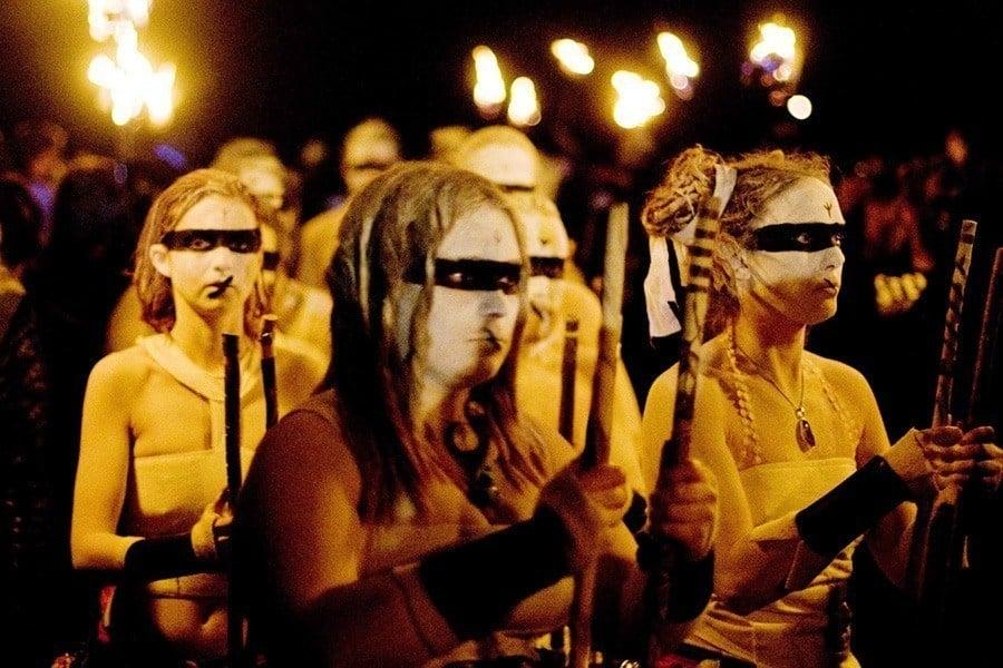 Yellow Beltane Fire Festival