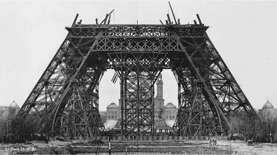 1888 The Eiffel Tower