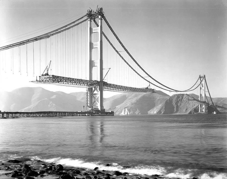1936 The Golden Gate Bridge