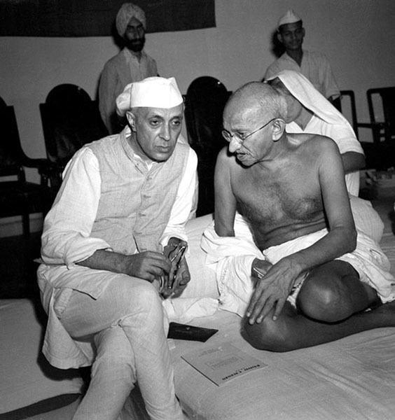 Gandhi Nehru MaxDesfor Acmenewspicturesinc