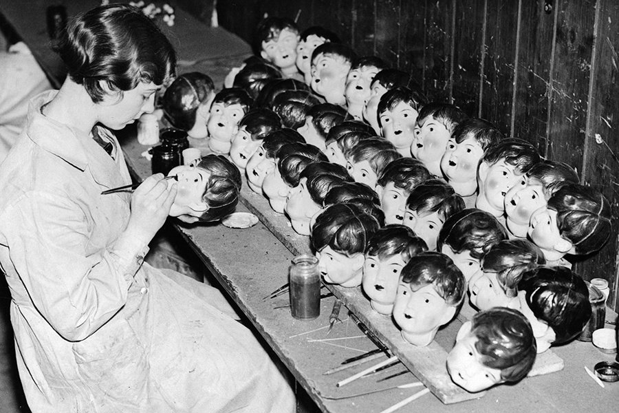 Baby Doll Heads