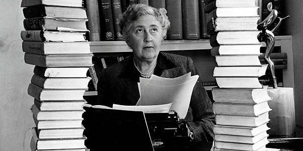 Writers Day Jobs Agatha Christie