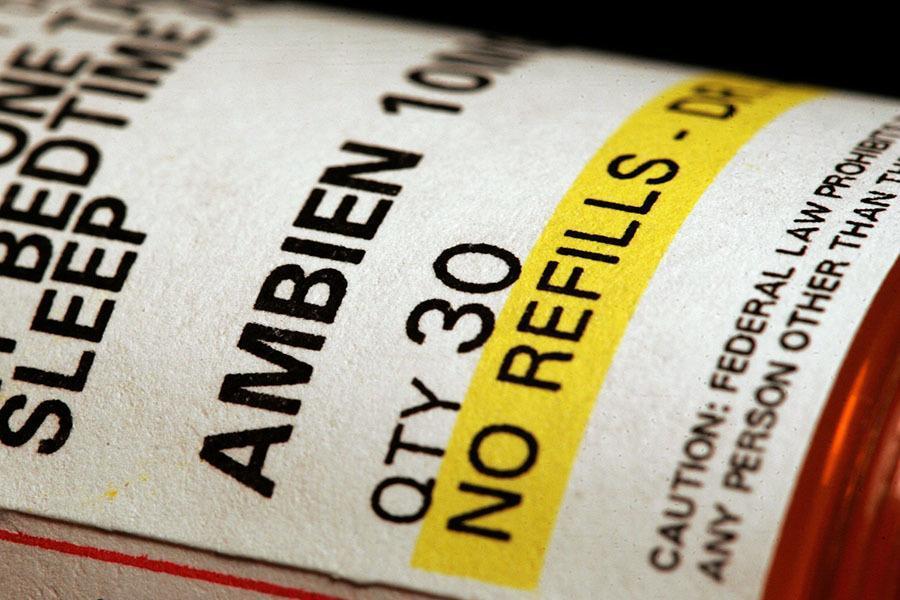 Ambien Bottle