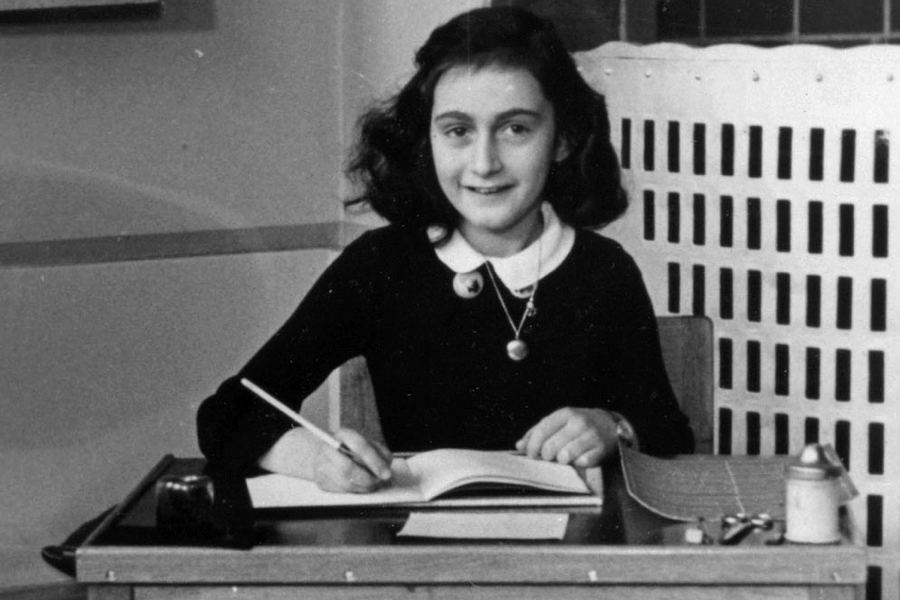 Anne Frank Quotes Desk Chair