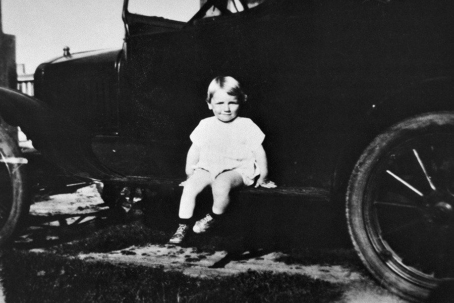 Baby Norma Jeane