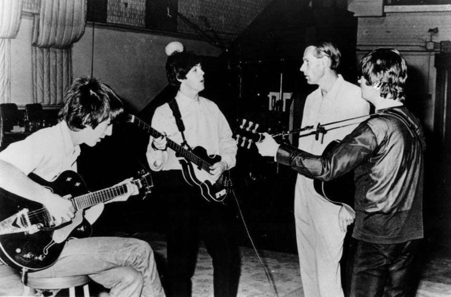 Beatles In Paul McCartney's Studio