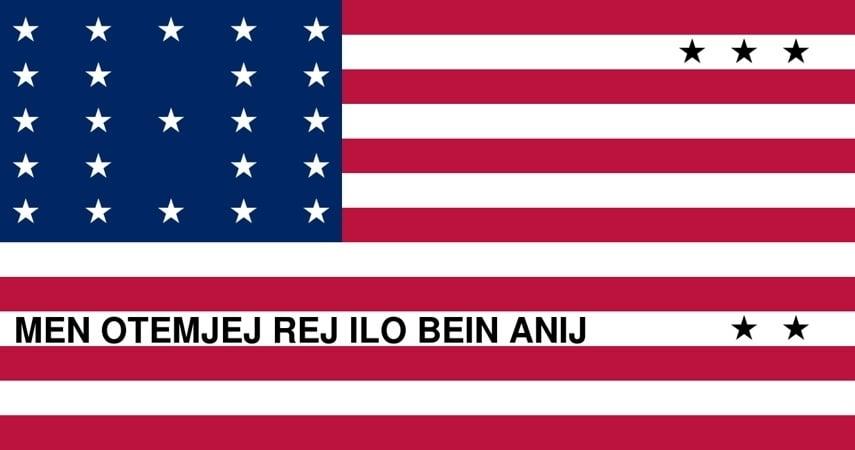 Bikini Atoll Flag