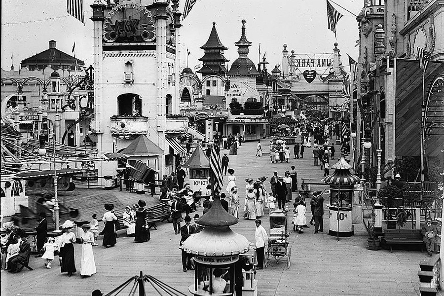 Coney Island Luna Park 1910