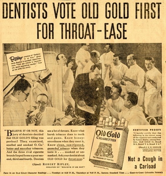 Dentists Old Gold