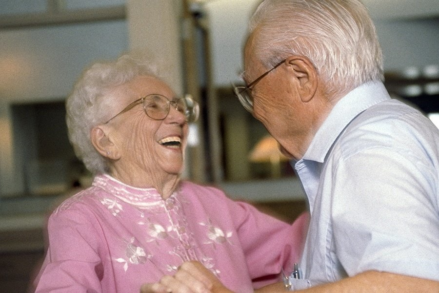 Elderly Dancing