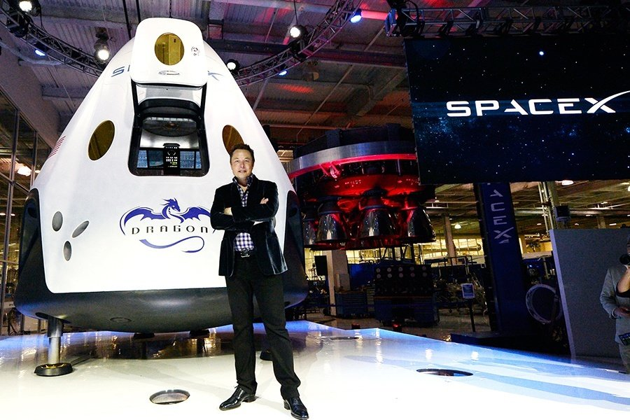 Elon Musk Dragon Spacex