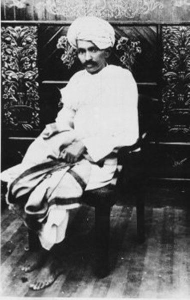 Gandhi Sitting