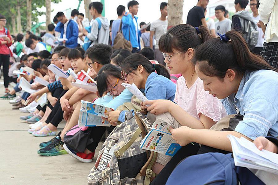 Gaokao Girls Prepare