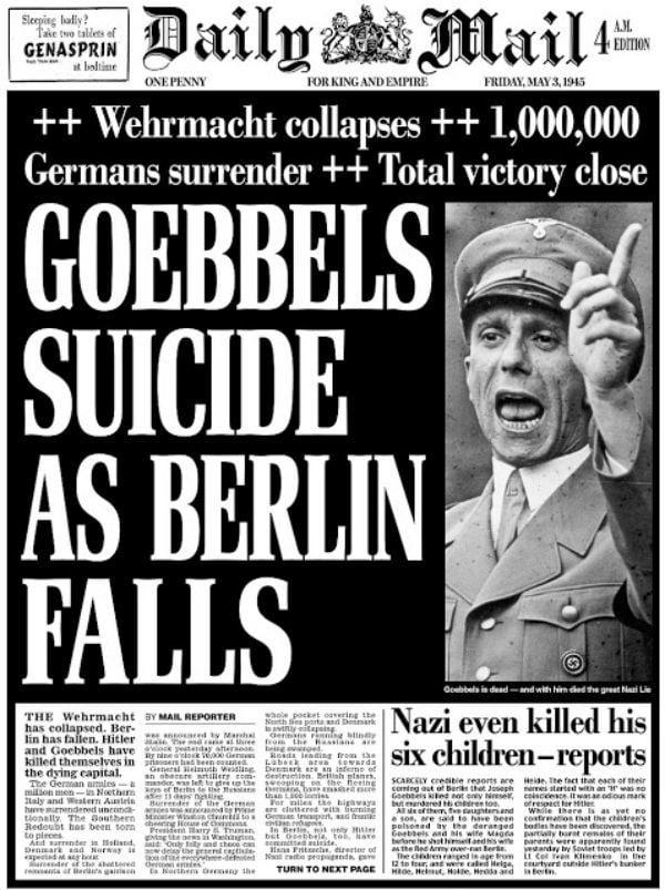 Headlines Of The Past