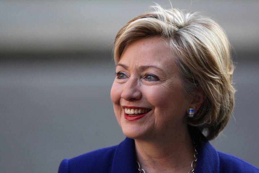 Hillary Portrait