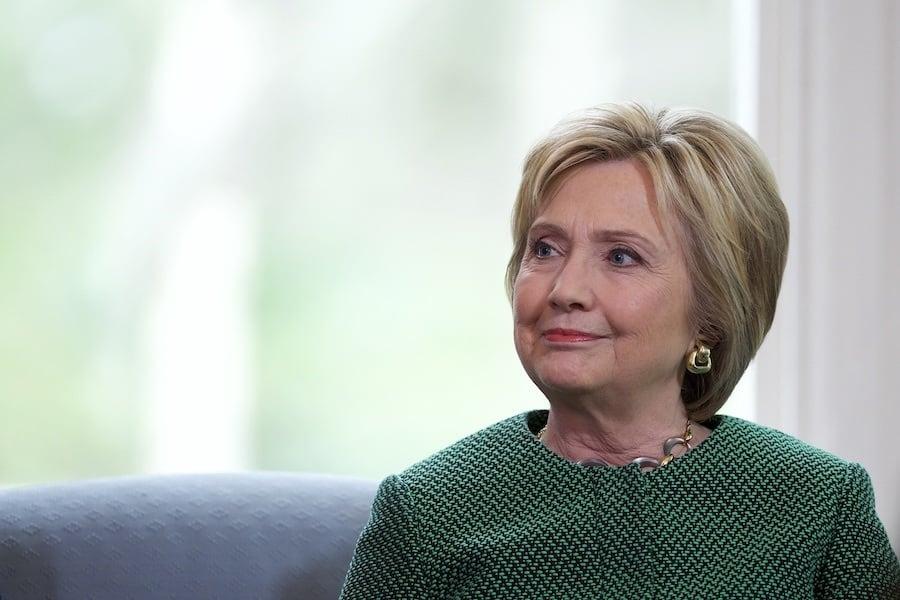 Hillary Sitting