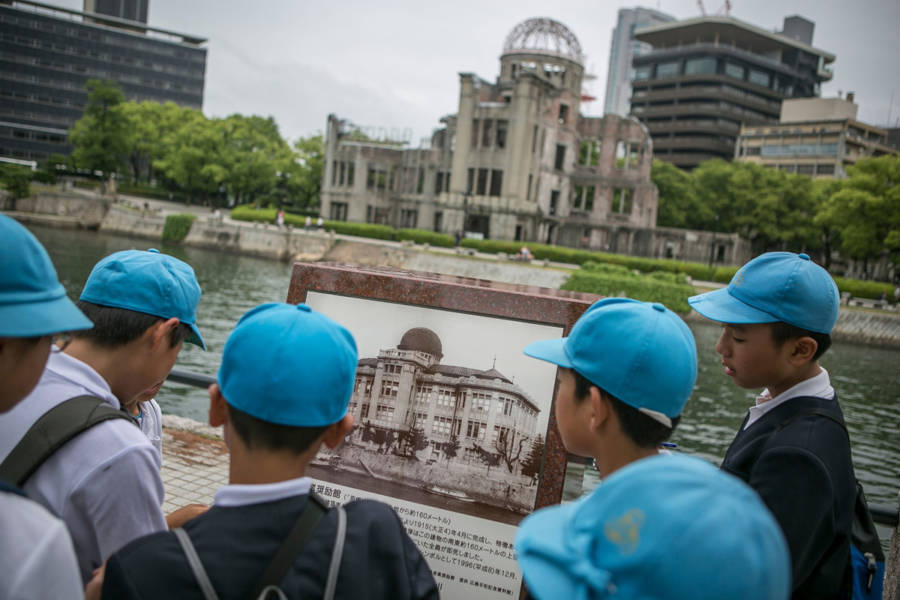 Hiroshima Prepares For U.S. President Obama's Historic Visit