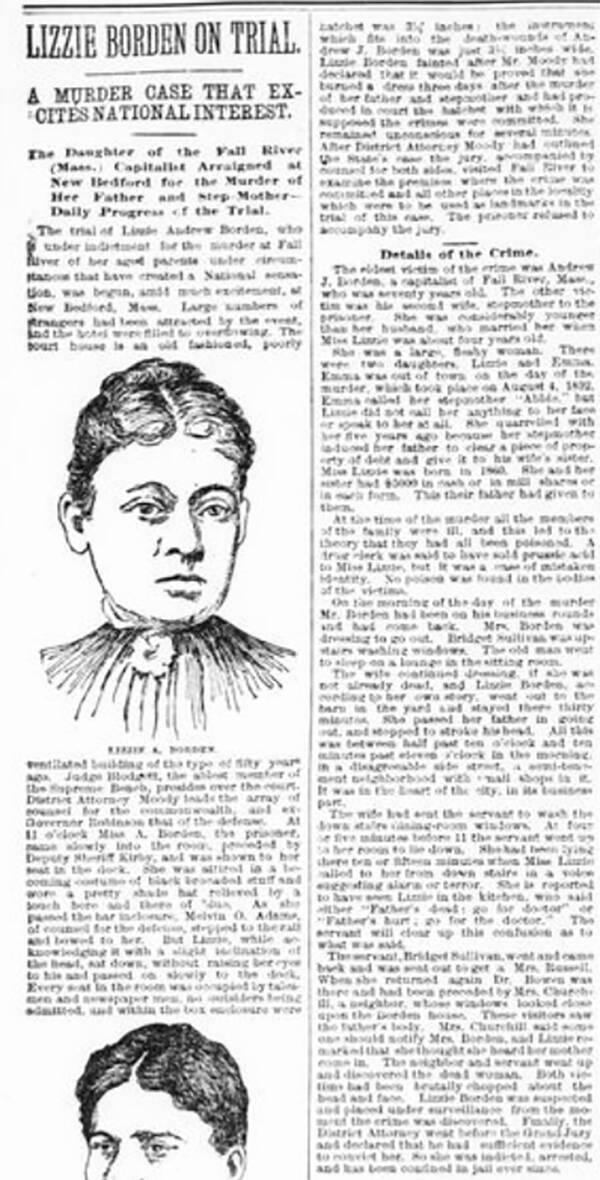 Lizzie Borden Trial