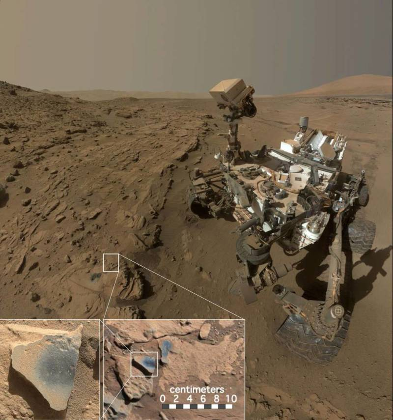Mars Rover Earth Past