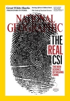 National Geographic Issue Cover