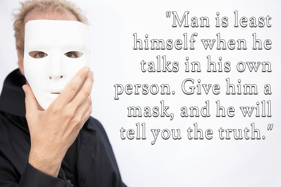 Oscar Wilde Mask
