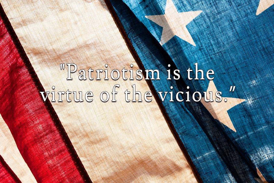 Oscar Wilde Patriotism