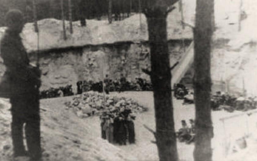 Ponar Extermination Pit