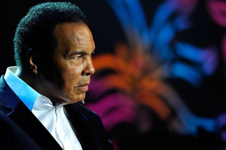 Portrait Muhammad Ali