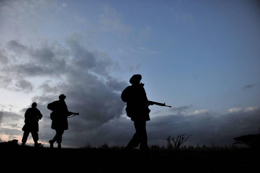 Rangers Walking