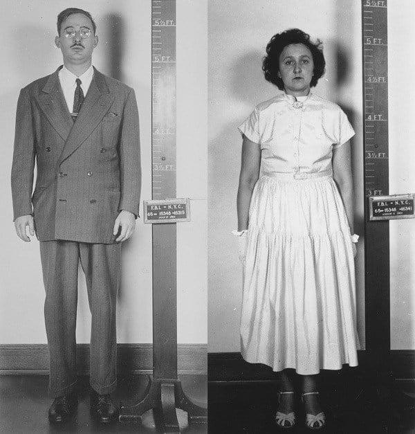 Rosenbergs Arrested