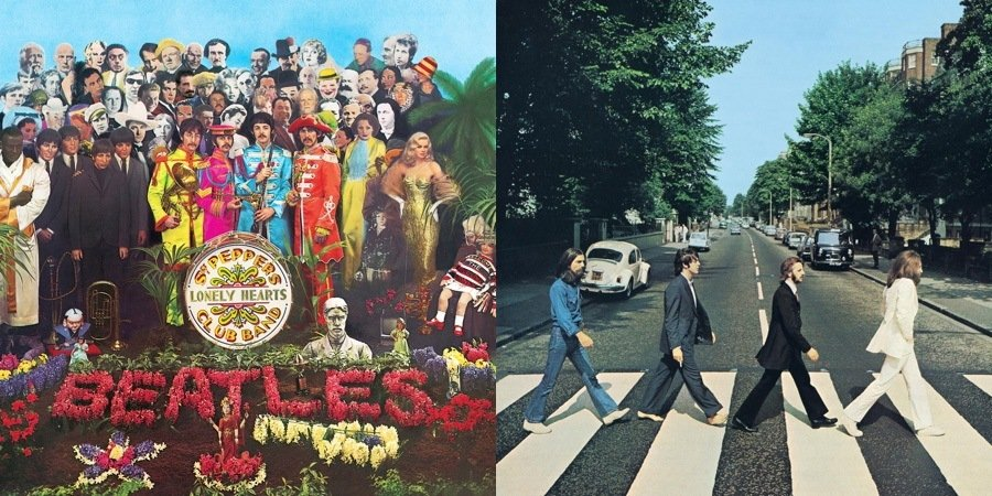 Sgt Pepper Abbey Road