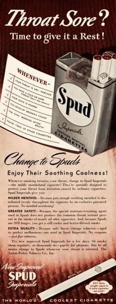 Spud Throat