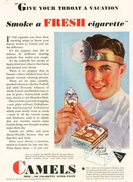 Vintage Cigarette Ads Doctor
