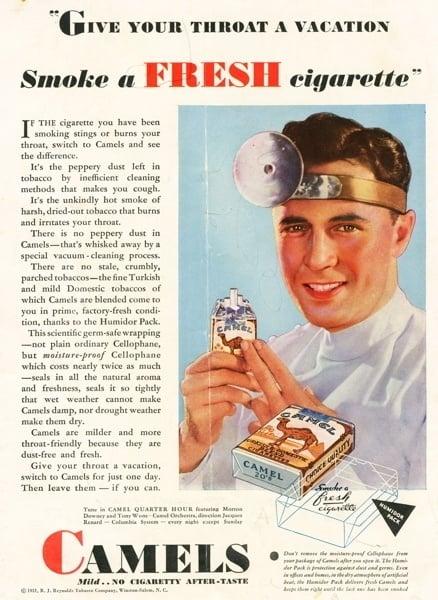 Vintage Cigarette Ads Doctor