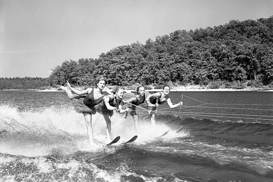 Water Skiing Girls