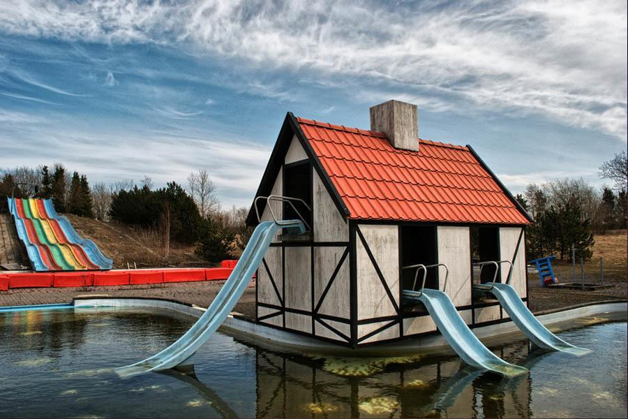 Waterslide House