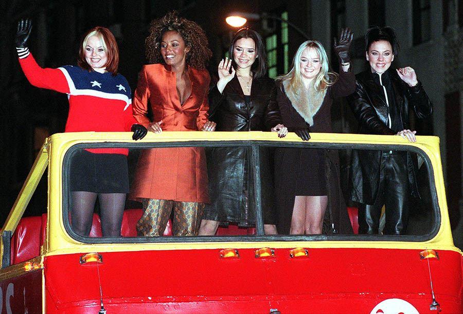 The Spice Girls' Ginger Spice (Geraldine Halliwell