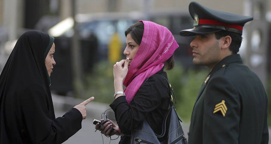 Police Enforce Women's Islamic Dress Code
