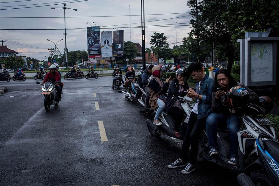 Indonesian Bikers