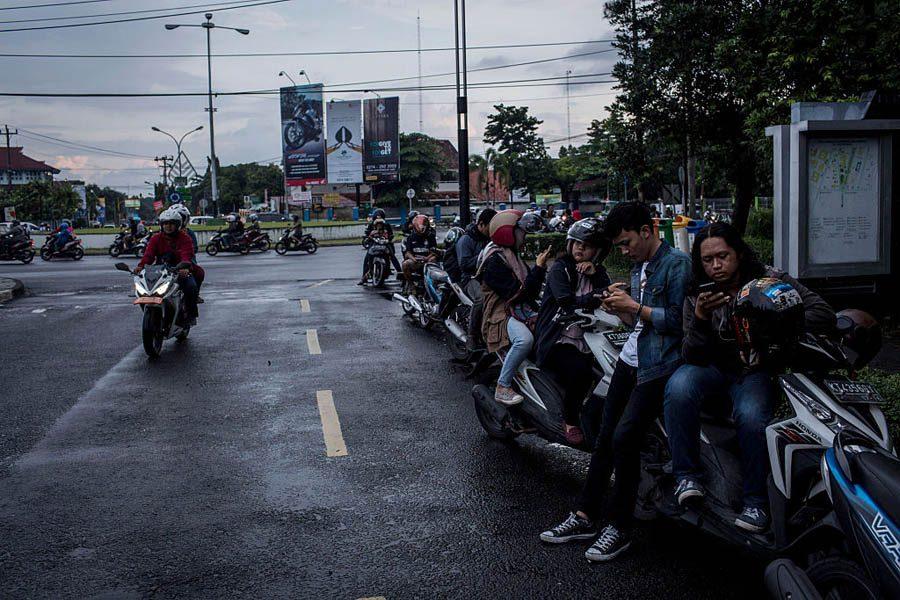 Indonesian Bikers