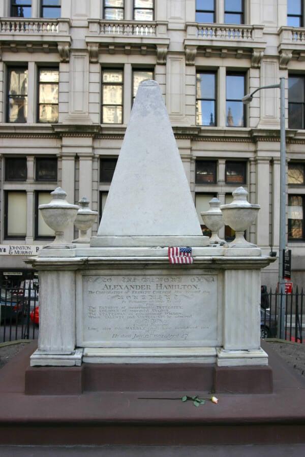 Death Of Alexander Hamilton