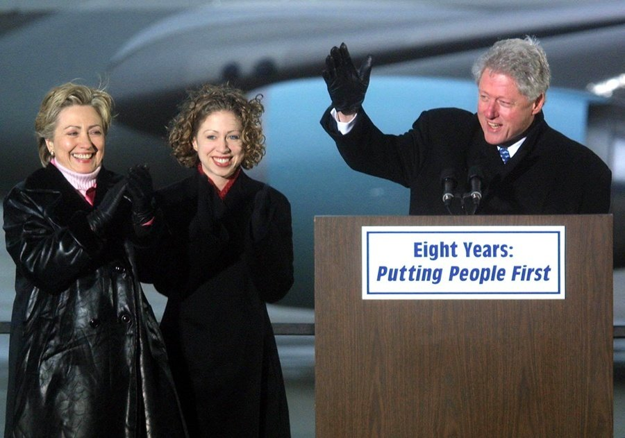 Bill Chelsea Hillary