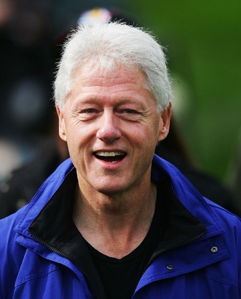 Bill Clinton Blue Jacket